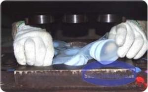 Feliratozott gumi karkötők